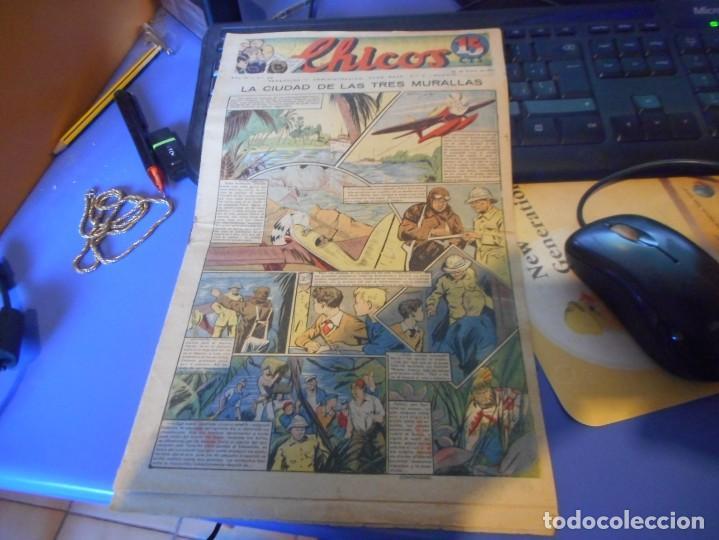 TEBEO COMPLETO CHICOS LA CIUDAD DE LAS TRES MURALLAS FREIXAS 1940 NUMERO 99 (Tebeos y Comics - Consuelo Gil)