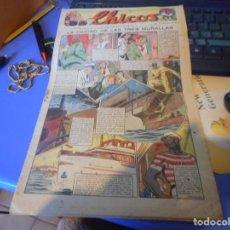 Tebeos: TEBEO COMPLETO CHICOS LA CIUDAD DE LAS TRES MURALLAS FREIXAS 1939 NUMERO 95. Lote 145359314
