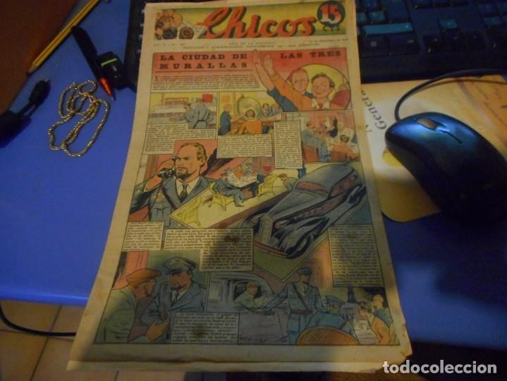TEBEO CREO COMPLETO CHICOS LA CIUDAD DE LAS TRES MURALLAS FREIXAS 1939 NUMERO 89 (Tebeos y Comics - Consuelo Gil)
