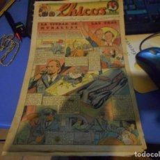 Tebeos: TEBEO CREO COMPLETO CHICOS LA CIUDAD DE LAS TRES MURALLAS FREIXAS 1939 NUMERO 89. Lote 145361826