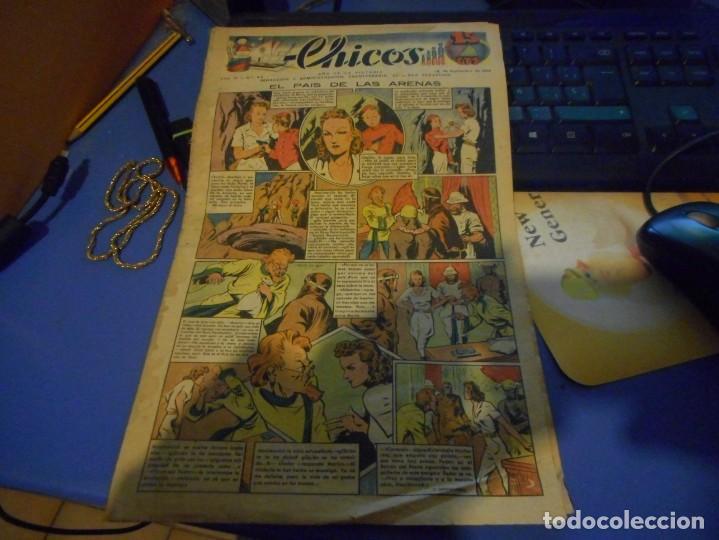 TEBEO CHICOS EL PAIS DE LAS ARENAS FREIXAS 1939 NUMERO 80 (Tebeos y Comics - Consuelo Gil)