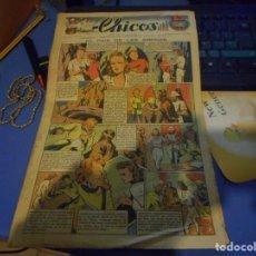 Tebeos: TEBEO CHICOS EL PAIS DE LAS ARENAS FREIXAS 1939 NUMERO 80. Lote 145362770