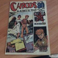 Tebeos: CHICOS 2ª ETAPA BOLSILLO Nº 5 (ED. CONSUELO GIL) (COIM18). Lote 147096078
