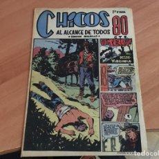 Tebeos: CHICOS 2ª ETAPA BOLSILLO Nº 6 (ED. CONSUELO GIL) (COIM18). Lote 147096178