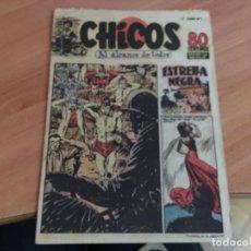 Tebeos: CHICOS 2ª ETAPA BOLSILLO Nº 1 (ED. CONSUELO GIL) (COIM18). Lote 147096282