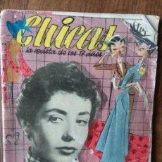 Tebeos: CHICAS Nº 126 DE 1952, LA REVISTA DE LOS 17 AÑOS- NOVELAS, ILUSTRACION, MODA, TEBEOS, ACTUALIDAD.... Lote 149845242