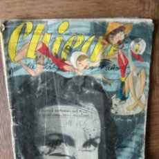 Tebeos: CHICAS Nº 156 DE 1953, LA REVISTA DE LOS 17 AÑOS- NOVELAS, ILUSTRACION, MODA, TEBEOS, ACTUALIDAD.... Lote 149845342