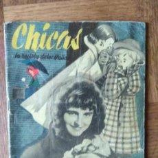 Tebeos: CHICAS Nº 31 DE 1951, LA REVISTA DE LOS 17 AÑOS- NOVELAS, ILUSTRACION, MODA, TEBEOS, ACTUALIDAD.... Lote 149845422