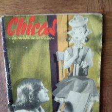 Tebeos: CHICAS Nº 37 DE 1951, LA REVISTA DE LOS 17 AÑOS- NOVELAS, ILUSTRACION, MODA, TEBEOS, ACTUALIDAD.... Lote 149845498