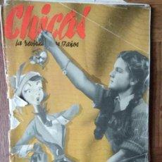 Tebeos: CHICAS Nº 41 DE 1951, LA REVISTA DE LOS 17 AÑOS- NOVELAS, ILUSTRACION, MODA, TEBEOS, ACTUALIDAD.... Lote 149845550