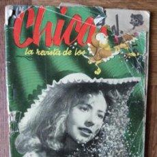 Tebeos: CHICAS Nº 65 DE 1951, LA REVISTA DE LOS 17 AÑOS- NOVELAS, ILUSTRACION, MODA, TEBEOS, ACTUALIDAD.... Lote 149845598