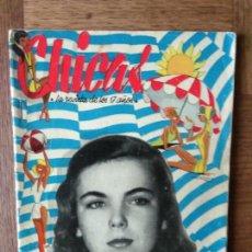 Tebeos: CHICAS Nº 57 DE 1951, LA REVISTA DE LOS 17 AÑOS- NOVELAS, ILUSTRACION, MODA, TEBEOS, ACTUALIDAD.... Lote 149846042