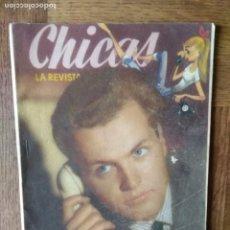 Tebeos: CHICAS Nº 203 DE 1954, LA REVISTA DE LOS 17 AÑOS- NOVELAS, ILUSTRACION, MODA, TEBEOS, ACTUALIDAD.... Lote 149846242