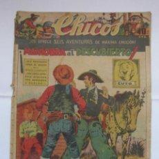 Tebeos: CHICOS Nº 287 AÑO VI 2 DE FEBRERO DE 1944. Lote 156178462