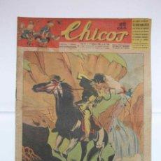 Tebeos: CHICOS Nº 340 AÑO VII 14 DE FEBRERO DE 1945. Lote 156182130