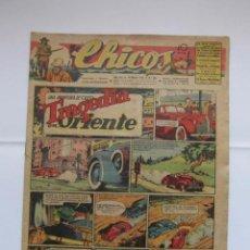 Tebeos: CHICOS Nº 344 AÑO VIII 14 DE MARZO DE 1945. Lote 156183442