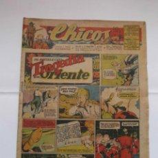 Tebeos: CHICOS Nº 357 AÑO VIII 11 DE JULIO DE 1945. Lote 156185070