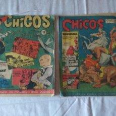 Tebeos: 2 TEBEOS CHICOS. Nº 14 Y 27.. Lote 171637403