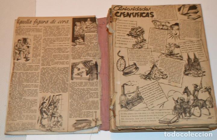 Tebeos: CHICOS - LOTE 60 TEBEOS SEGUIDOS - 1943 - DESDE EL 274 AL 334 COMPLETOS - EN TOMO - CONSUELO GIL - Foto 5 - 174060785