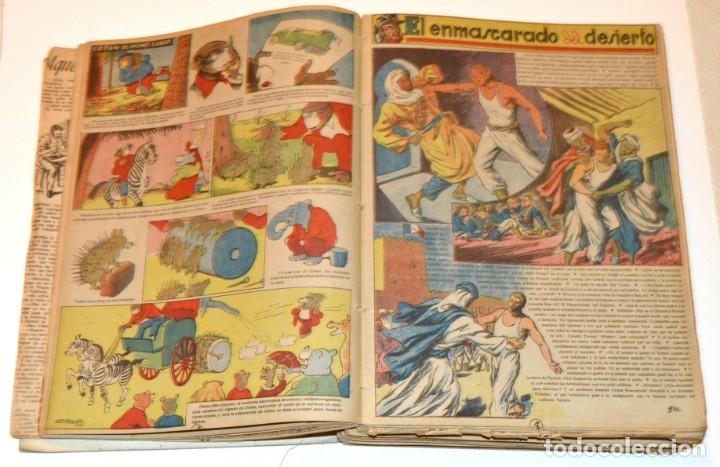 Tebeos: CHICOS - LOTE 60 TEBEOS SEGUIDOS - 1943 - DESDE EL 274 AL 334 COMPLETOS - EN TOMO - CONSUELO GIL - Foto 10 - 174060785