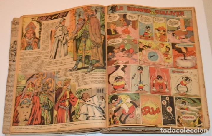 Tebeos: CHICOS - LOTE 60 TEBEOS SEGUIDOS - 1943 - DESDE EL 274 AL 334 COMPLETOS - EN TOMO - CONSUELO GIL - Foto 14 - 174060785