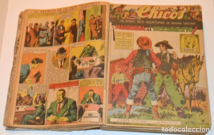 Tebeos: CHICOS - LOTE 60 TEBEOS SEGUIDOS - 1943 - DESDE EL 274 AL 334 COMPLETOS - EN TOMO - CONSUELO GIL - Foto 22 - 174060785