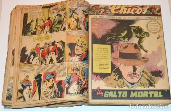 Tebeos: CHICOS - LOTE 60 TEBEOS SEGUIDOS - 1943 - DESDE EL 274 AL 334 COMPLETOS - EN TOMO - CONSUELO GIL - Foto 34 - 174060785