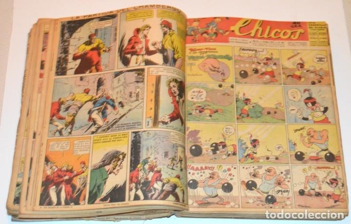 Tebeos: CHICOS - LOTE 60 TEBEOS SEGUIDOS - 1943 - DESDE EL 274 AL 334 COMPLETOS - EN TOMO - CONSUELO GIL - Foto 37 - 174060785