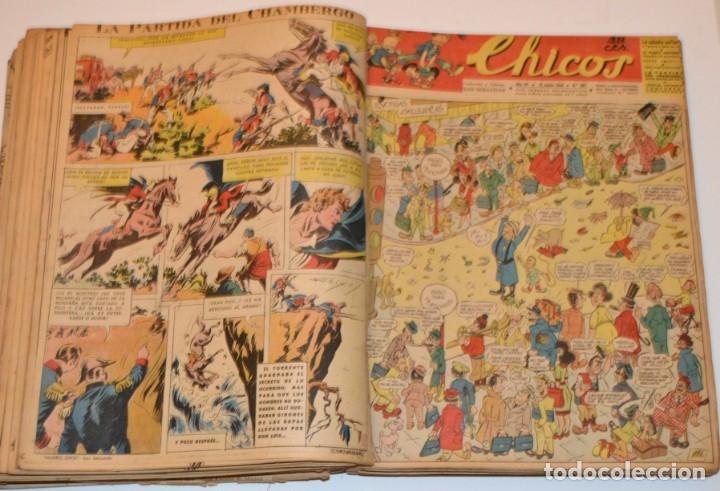 Tebeos: CHICOS - LOTE 60 TEBEOS SEGUIDOS - 1943 - DESDE EL 274 AL 334 COMPLETOS - EN TOMO - CONSUELO GIL - Foto 44 - 174060785
