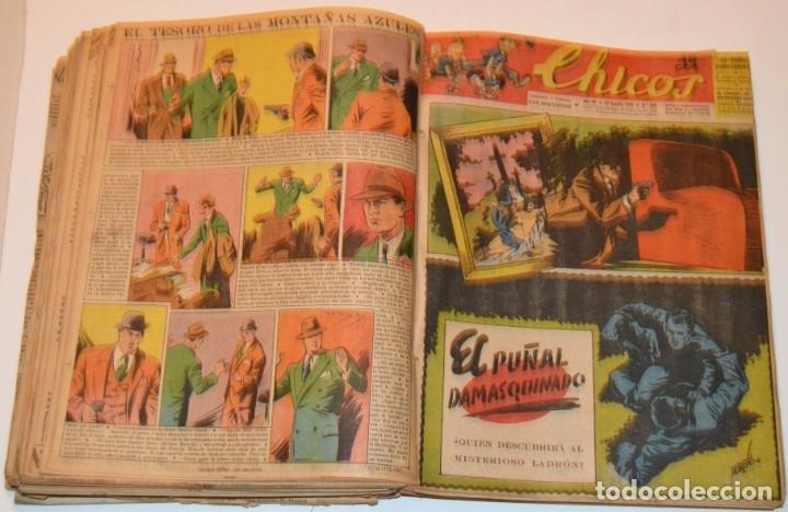 Tebeos: CHICOS - LOTE 60 TEBEOS SEGUIDOS - 1943 - DESDE EL 274 AL 334 COMPLETOS - EN TOMO - CONSUELO GIL - Foto 50 - 174060785