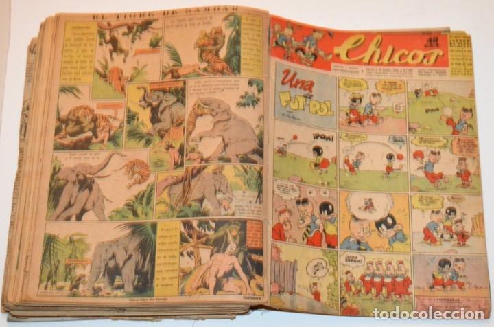 Tebeos: CHICOS - LOTE 60 TEBEOS SEGUIDOS - 1943 - DESDE EL 274 AL 334 COMPLETOS - EN TOMO - CONSUELO GIL - Foto 64 - 174060785