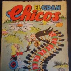 Tebeos: ANTIGUO TEBEO EL GRAN CHICOS Nº 3 , CONSUELO GIL ,AÑOS 40, VER FOTOS. Lote 175522614