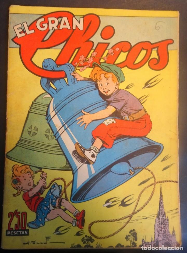 ANTIGUO TEBEO EL GRAN CHICOS Nº 6 , CONSUELO GIL ,AÑOS 40, VER FOTOS (Tebeos y Comics - Consuelo Gil)