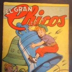 Tebeos: ANTIGUO TEBEO EL GRAN CHICOS Nº 6 , CONSUELO GIL ,AÑOS 40, VER FOTOS. Lote 175522817