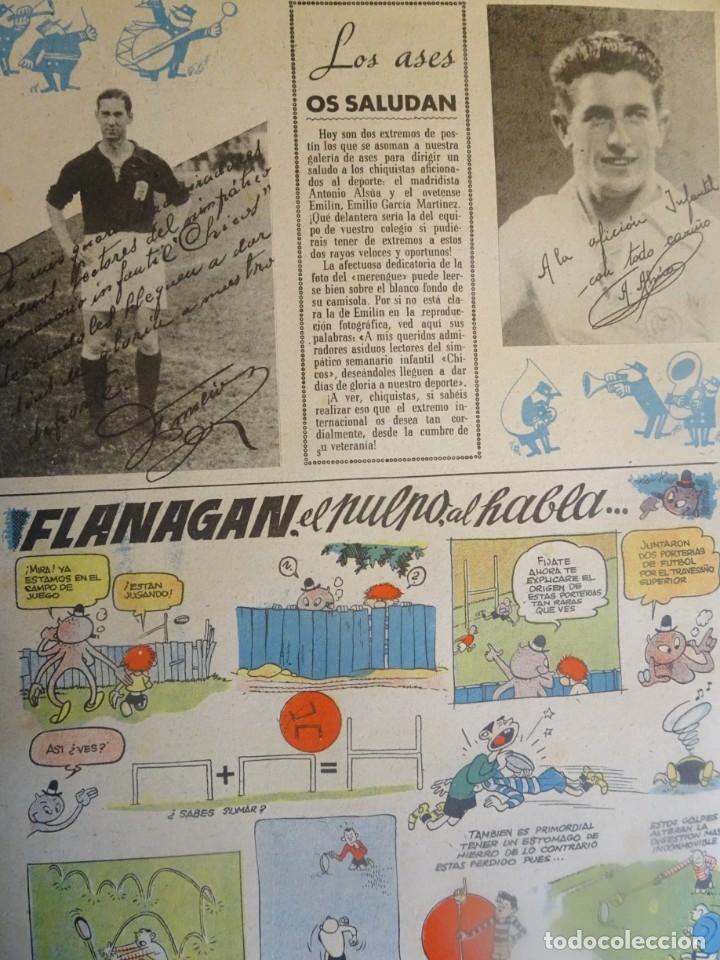 Tebeos: ANTIGUO TEBEO EL GRAN CHICOS Nº 6 , CONSUELO GIL ,AÑOS 40, VER FOTOS - Foto 7 - 175522817