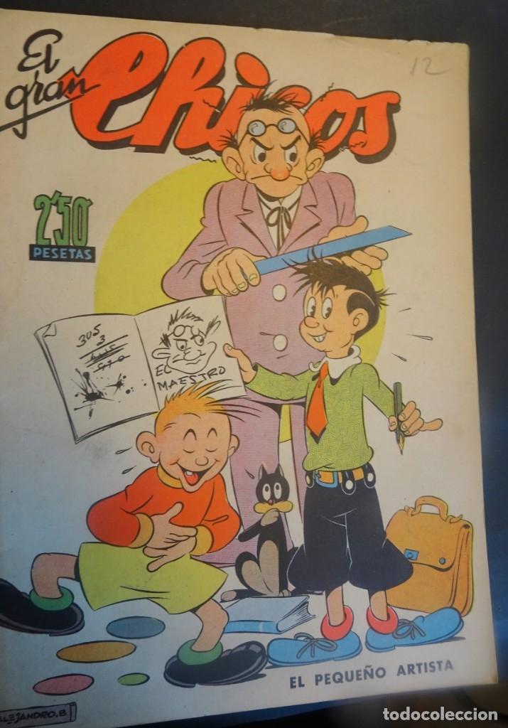 ANTIGUO TEBEO EL GRAN CHICOS Nº 12 , CONSUELO GIL ,AÑOS 40, VER FOTOS (Tebeos y Comics - Consuelo Gil)