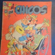 Tebeos: ANTIGUO TEBEO EL GRAN CHICOS Nº 39 , CONSUELO GIL ,AÑOS 40, VER FOTOS. Lote 175529279