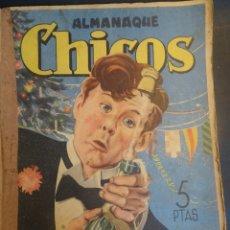 Tebeos: ANTIGUO TEBEO EL GRAN CHICOS ALMANAQUE 1947 , CONSUELO GIL , VER FOTOS. Lote 175529565