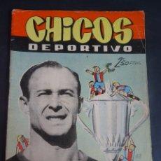 Tebeos: ANTIGUO TEBEO , CHICOS DEPORTIVO NÚMERO 68 ,AÑO 1952 , VER FOTOS. Lote 175689127