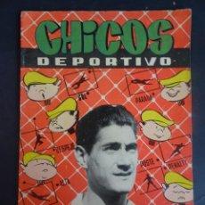 Tebeos: ANTIGUO TEBEO , CHICOS DEPORTIVO NÚMERO 62 ,AÑO 1952 , VER FOTOS. Lote 175690590