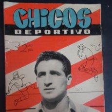 Tebeos: ANTIGUO TEBEO , CHICOS DEPORTIVO NÚMERO 56 ,AÑO 1952 , VER FOTOS. Lote 175691014