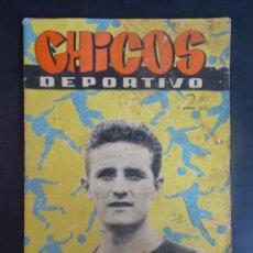 Giornalini: ANTIGUO TEBEO , CHICOS DEPORTIVO NÚMERO 58 ,AÑO 1952 , VER FOTOS. Lote 175691252