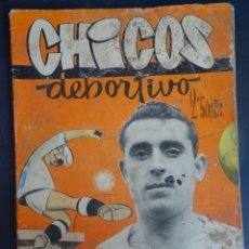 Tebeos: ANTIGUO TEBEO , CHICOS DEPORTIVO NÚMERO 70 ,AÑO 1952 , VER FOTOS. Lote 175691490