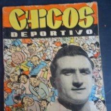 Tebeos: ANTIGUO TEBEO , CHICOS DEPORTIVO NÚMERO 69 ,AÑO 1952 , VER FOTOS. Lote 175691803