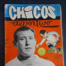 Tebeos: ANTIGUO TEBEO , CHICOS DEPORTIVO NÚMERO 65 ,AÑO 1952 , VER FOTOS. Lote 175692127