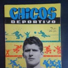 Tebeos: ANTIGUO TEBEO , CHICOS DEPORTIVO NÚMERO 60 ,AÑO 1952 , VER FOTOS. Lote 175692578