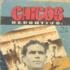 Tebeos: CHICOS DEPORTIVO Nº57 (FLASH GORDON, CISCO KID, RIP KIRBY, JESÚS BLASCO, BRICK BRADFORD...). Lote 192929201