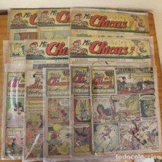 Tebeos: LOTE 10 TEBEOS MIS CHICAS 1942/1943. C. GIL CON ANITA DIMINUTA DE JESUS BLASCO. . Lote 194775940