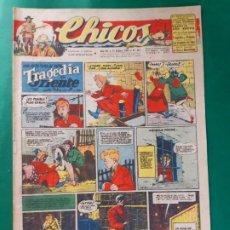 Tebeos: CHICOS-Nº360- AÑO 1945-LEER DESCRIPCIÓN.. Lote 198550873