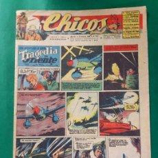 Tebeos: CHICOS-Nº362- AÑO 1945-LEER DESCRIPCIÓN.. Lote 198550963